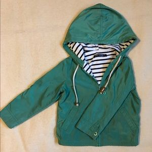 Other - Perfect cotton-lined Rain Jacket